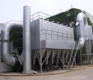 AOD炉高温烟气除尘系统现场图片