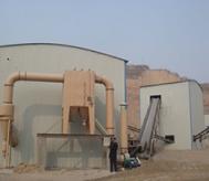 建材厂除尘设备现场
