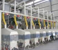 山西某公司年产1万吨棕刚玉清吹制粒生产线