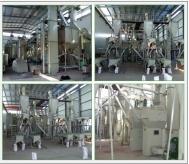 年产2万吨刚玉段砂生产线现场