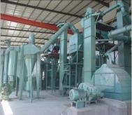 碳化硅清吹制粒生产线现场