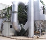 AOD高温冶炼炉除尘系统现场