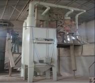 耐材厂脉冲式滤筒除尘器使用现场