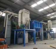 耐火材料厂脉冲除尘项目