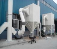 橡胶有害气体净化除尘系统安装完毕