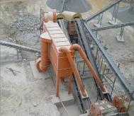 最新型石料厂除尘器使用现场