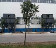 河南易成JY41-42D脉冲式滤筒除尘器安装现场
