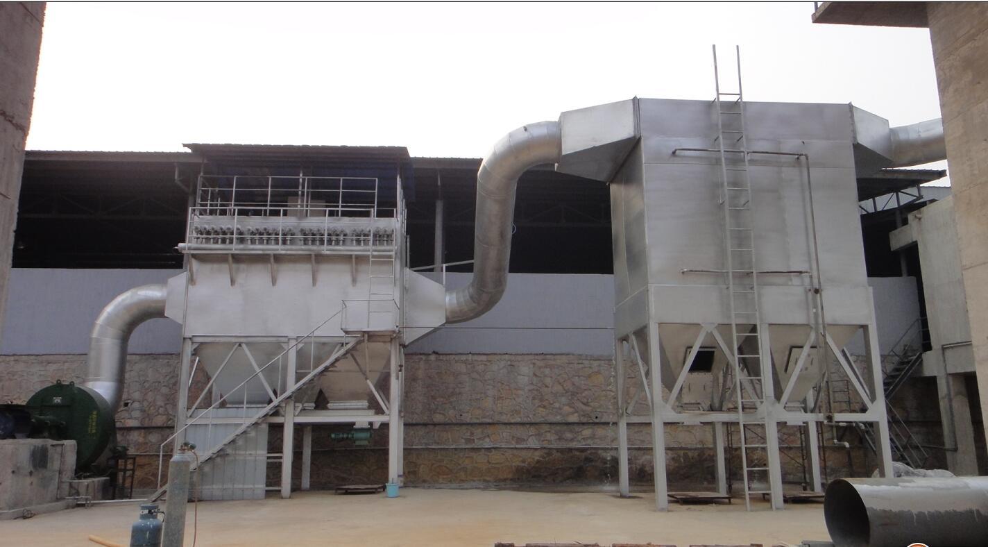 高温冶炼炉除尘工程案例