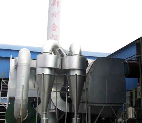高温冶炼炉烟气净化系统