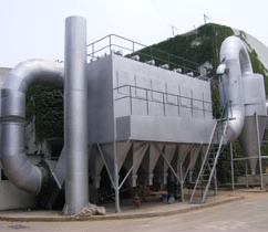 AOD高温烟气除尘系统
