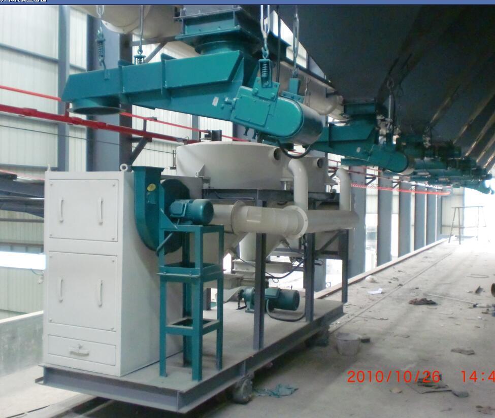 棕刚玉冶炼原料自动配料系统