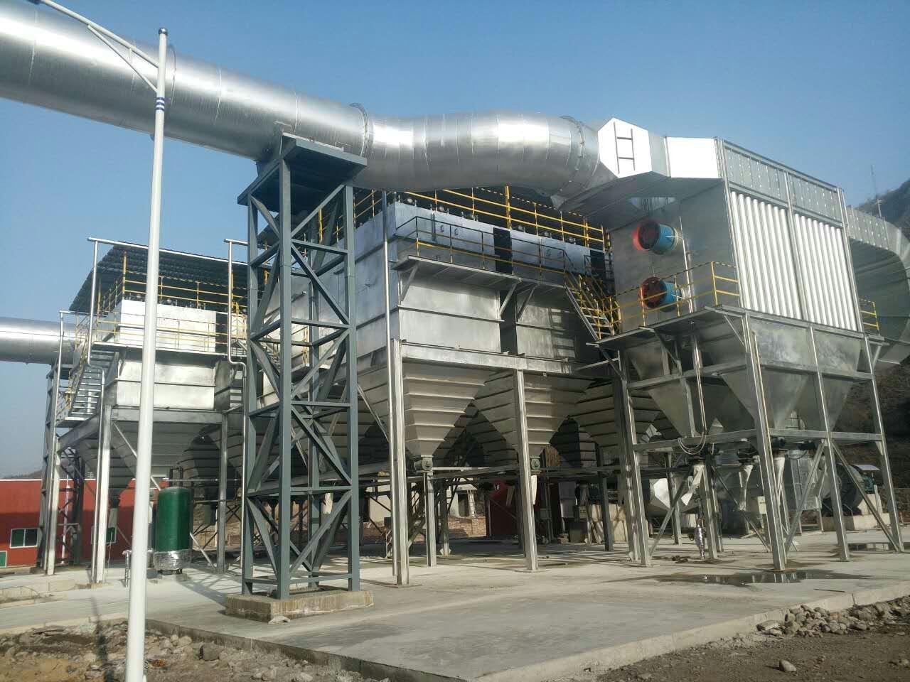 棕刚玉冶炼炉高温烟气净化系统