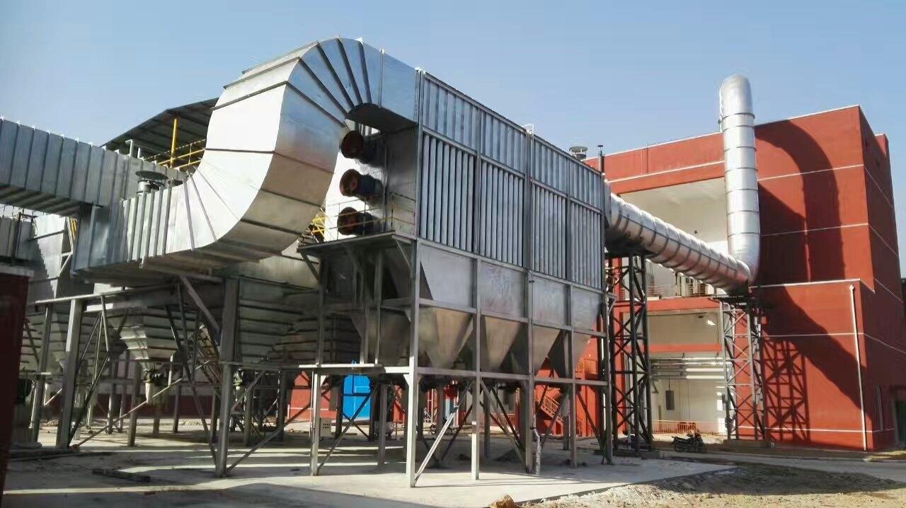 冶炼炉高温除尘系统