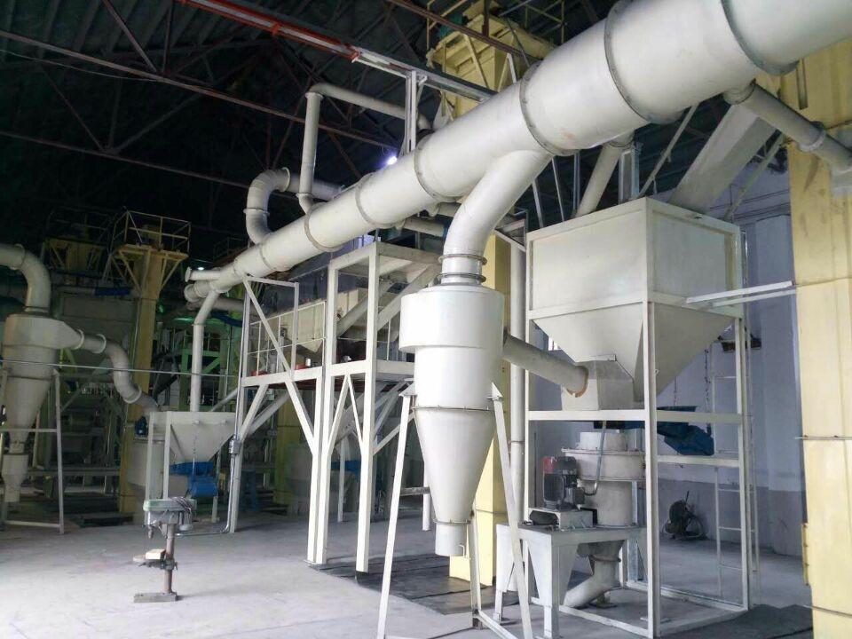 年产3000吨黑碳化硅粒度砂清吹制粒生产线