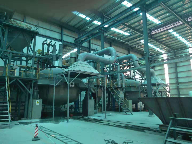 白刚玉冶炼炉除尘系统