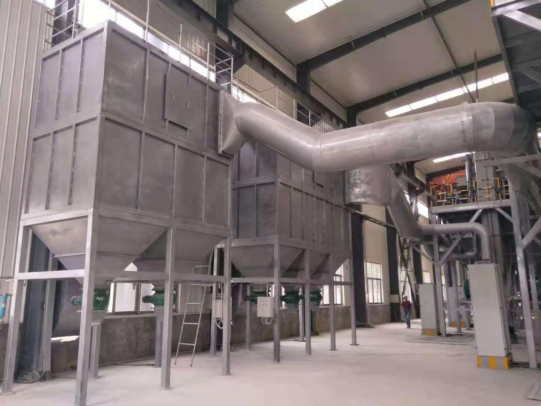 年产5万吨白刚玉段砂生产线配套除尘器