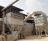 焙烧铝矾土回转窑烟气和粉尘收集及脱硫装置