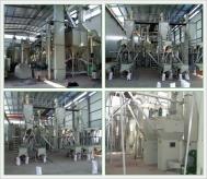 棕刚玉段砂生产线