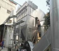 3吨中频炉配套除尘器