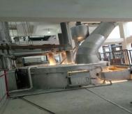 白刚玉冶炼炉高温烟气净化系统