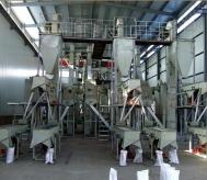 年产20000吨白刚玉磨料清吹制粒生产线