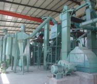 年产12000吨棕刚玉粒度砂清吹制粒生产线