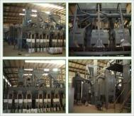 年产20000吨石榴石清吹制粒生产线