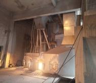 6300KVA棕刚玉冶炼倾倒炉配套高温烟气除尘系统