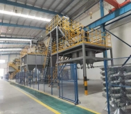 三门峡电熔:棕刚玉段砂生产线4