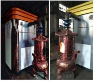 大型香宝炉除尘系统